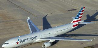 American Airlines Aeronaves Carbono