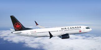 Boeing 737 MAX Air Canada Canadá