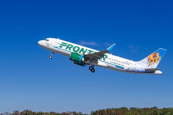 Frontier Airlines Airbus Pratt & Whitney