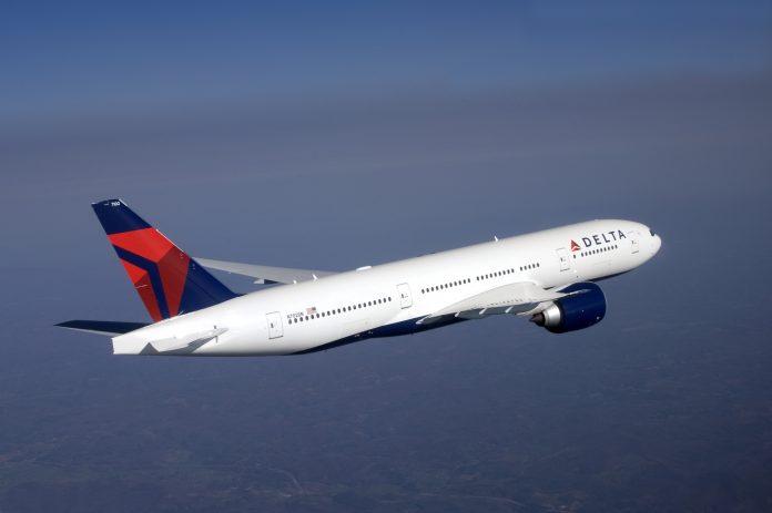Delta Airlines EUA Serviço de Bordo