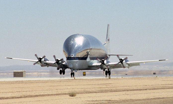 Boeing Super Guppy NASA Avião EUA Estados Unidos