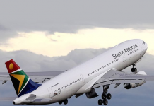 South African Airways África do sul