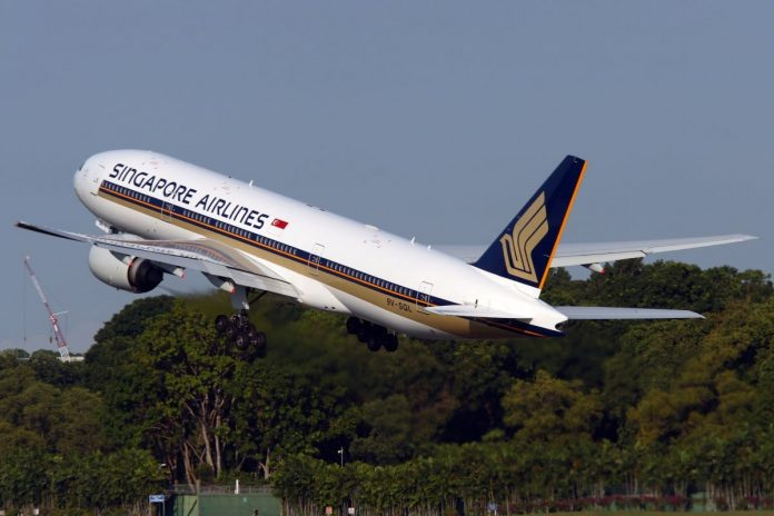 Singapore Airlines Boeing 777