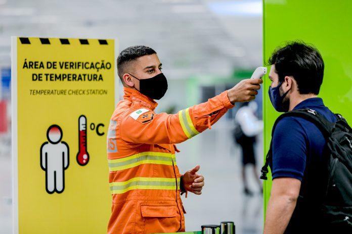 Máscaras Aeroportos Anvisa