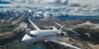 Dessault Falcon 6X Avião Executiva