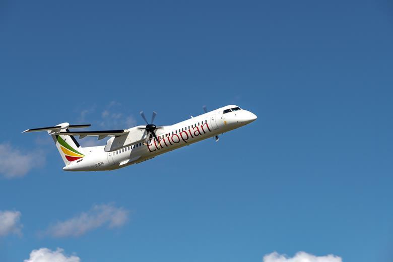 Dash 8 Ethiopian Airlines