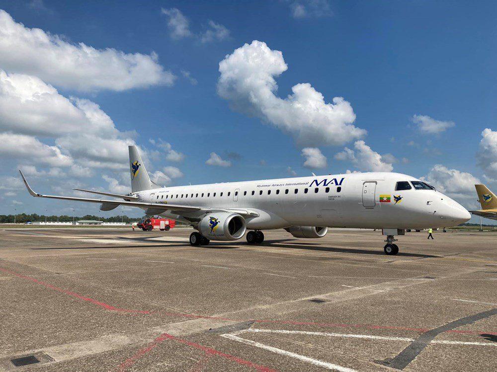 Embraer E190 Myanmar