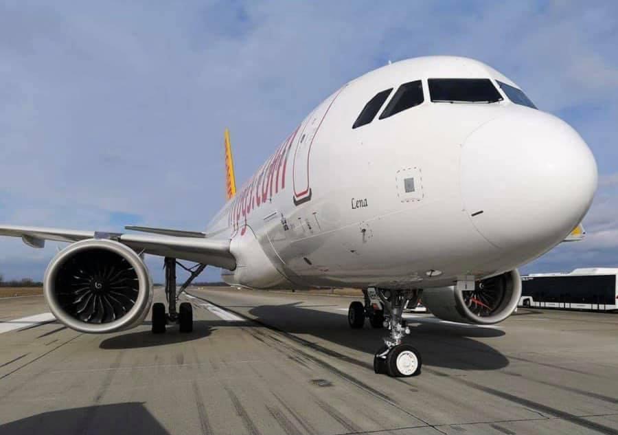 trem de pouso pegasus airlines