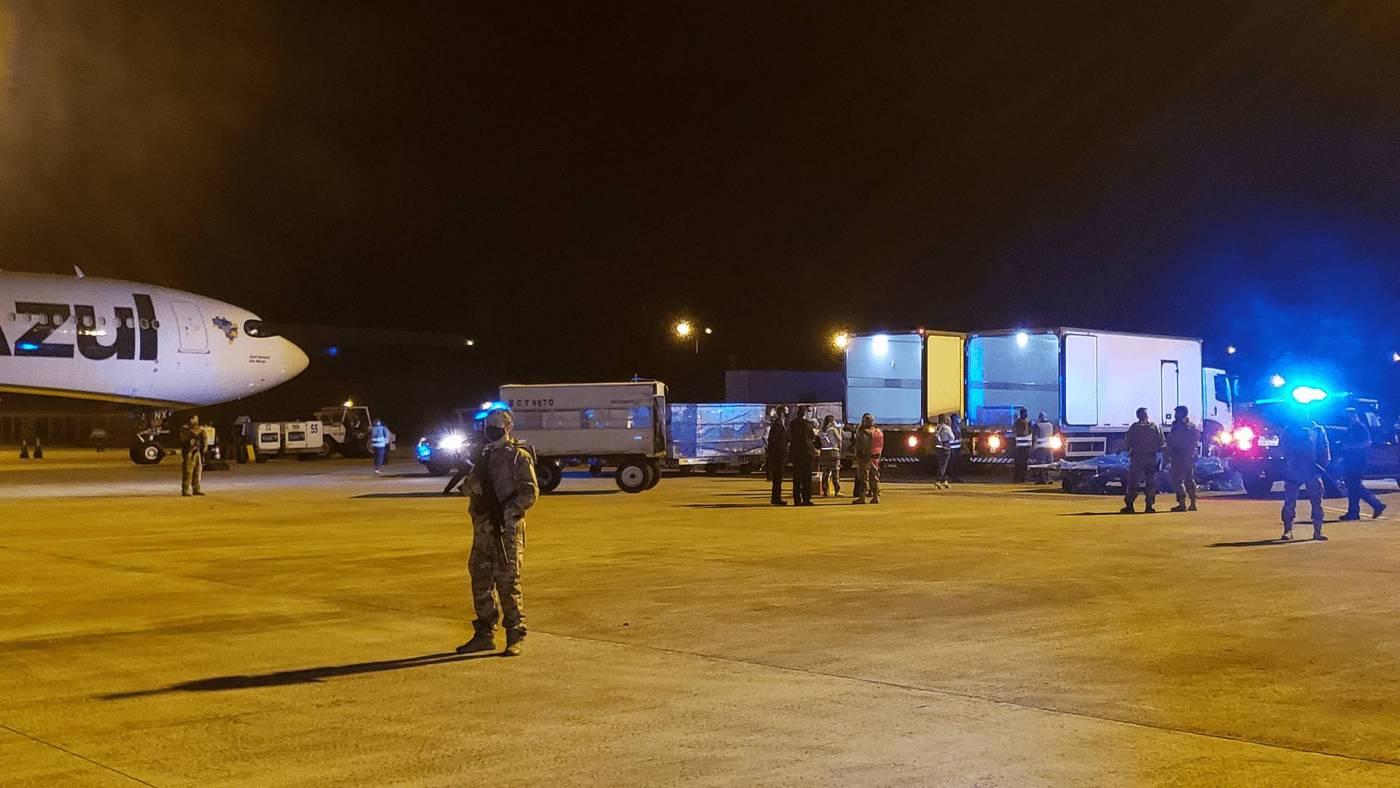 Aeroporto de Confins CoronaVac