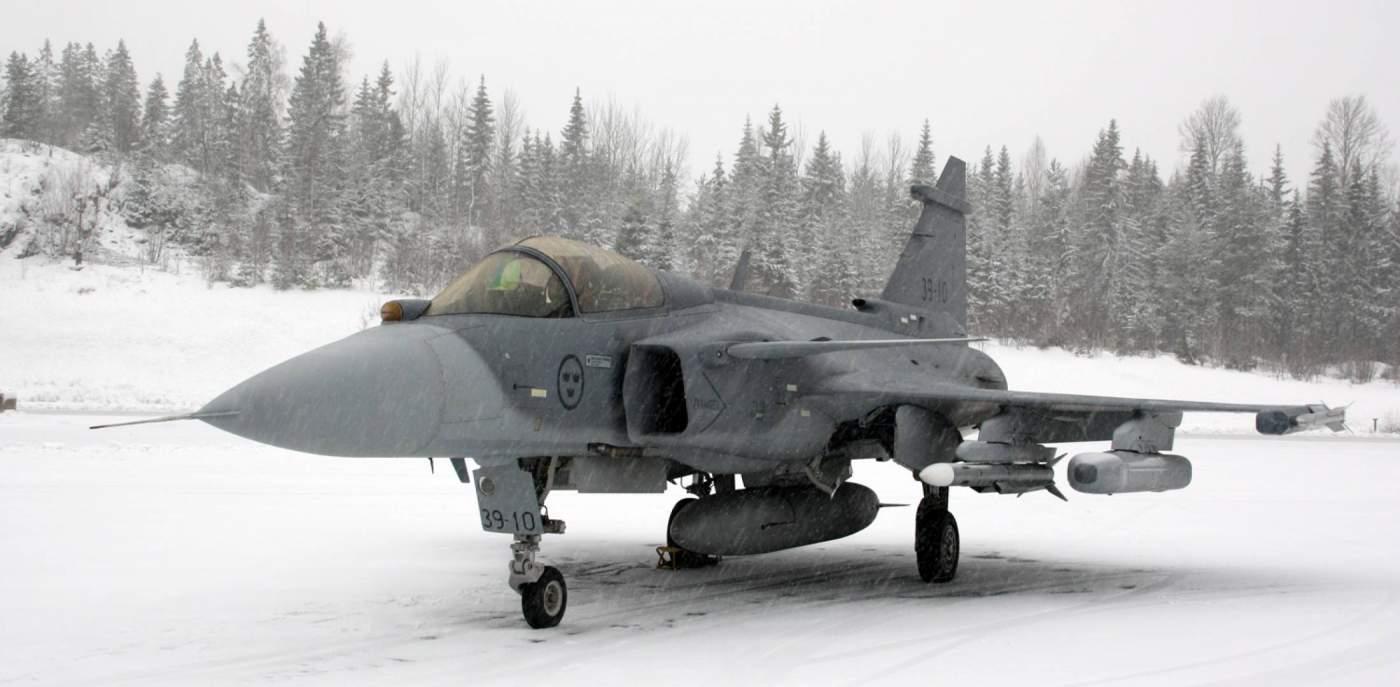 Saab Caça Gripen na Finlândia