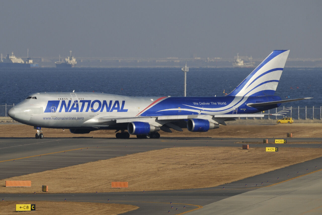 Boeing 747 National Airlines