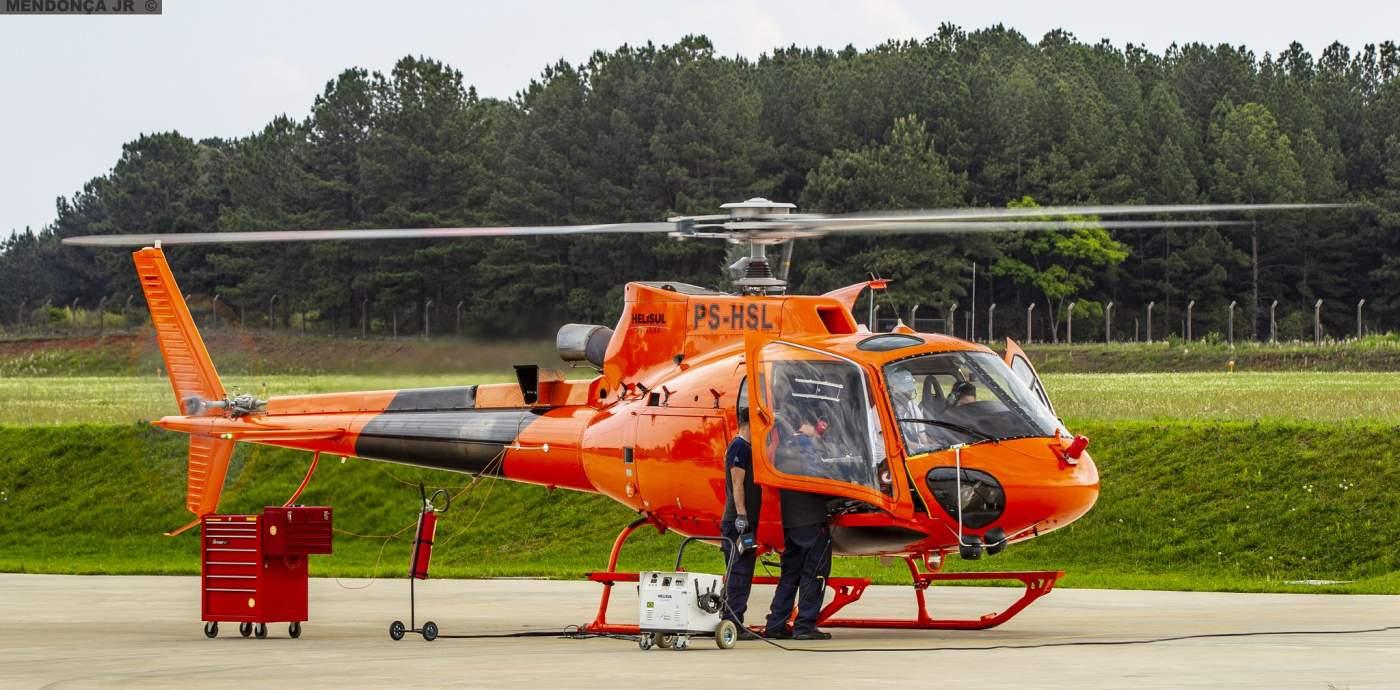 Helicóptero Helisul Heliponto