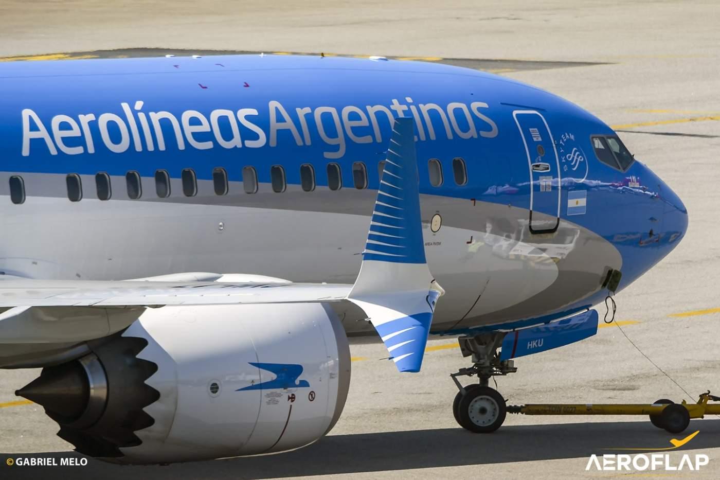 Boeing 737 MAX Aerolineas Argentinas Argentina