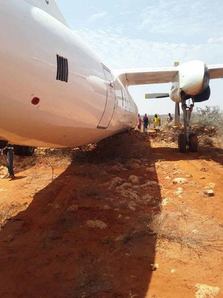 Fokker 27 Somália