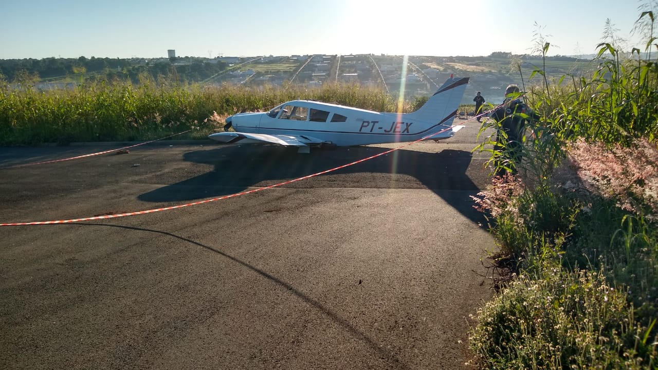 Incidente Piper Avião Maringá Paraná ANAC