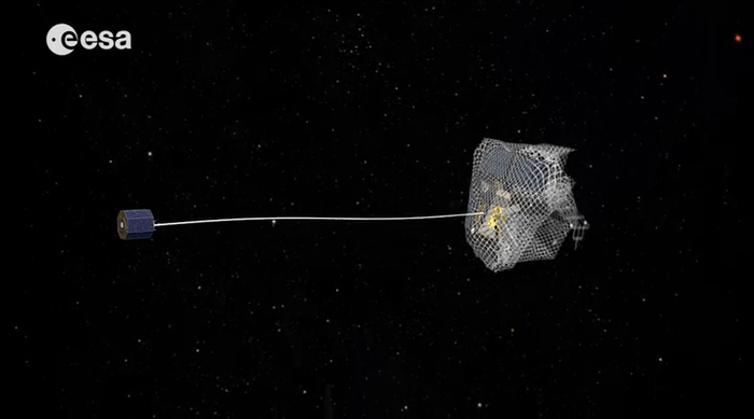 Lixeiro Espacial da Agência Espacial Europeia
