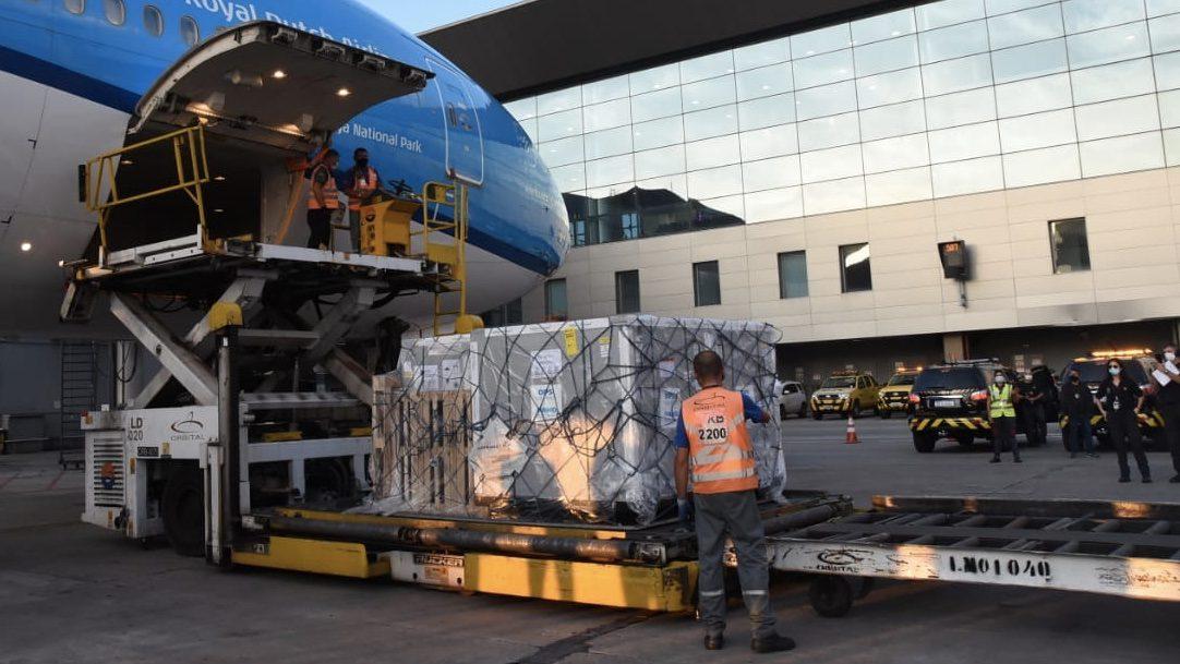Vacinas Boeing 777-300ER KLM