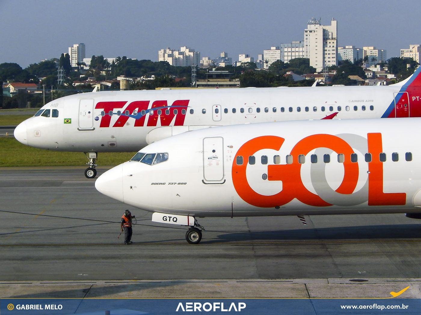 GOL LATAM Companhias Aéreas