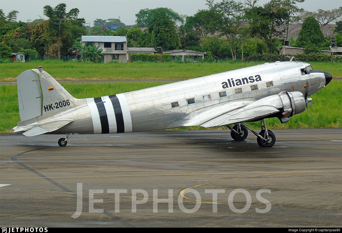 Douglas DC-3 Aliansa Colômbia