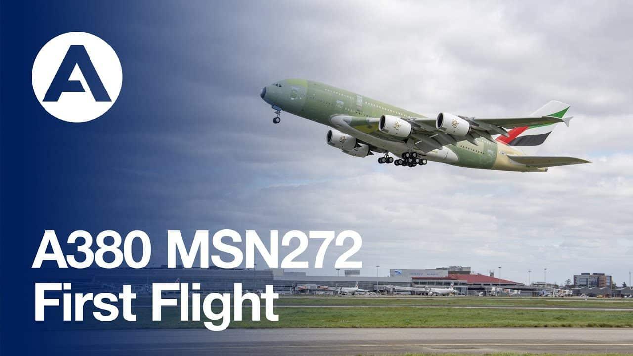 últimos Airbus A380