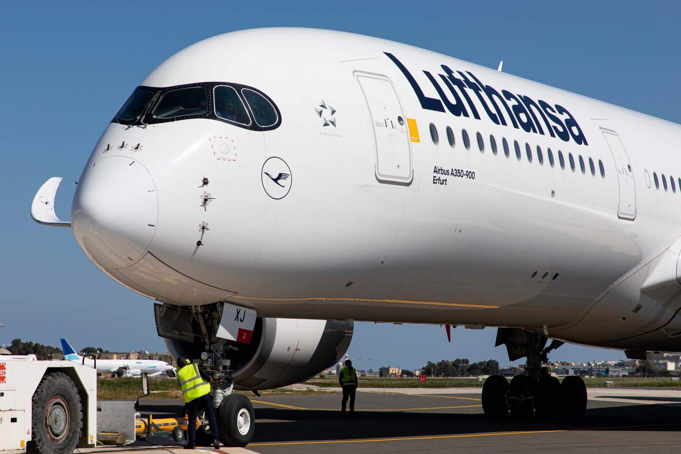 Airbus A350 Lufthansa Climática