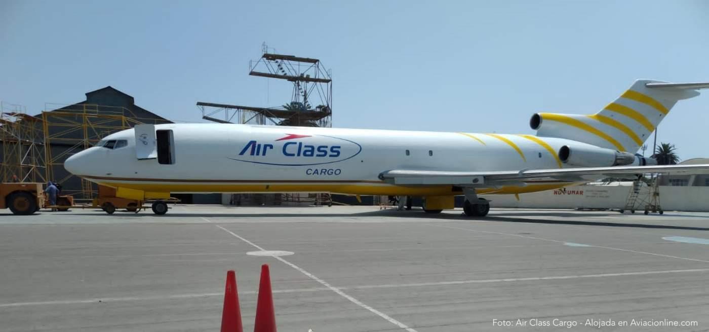 Boeing 727 Air Class