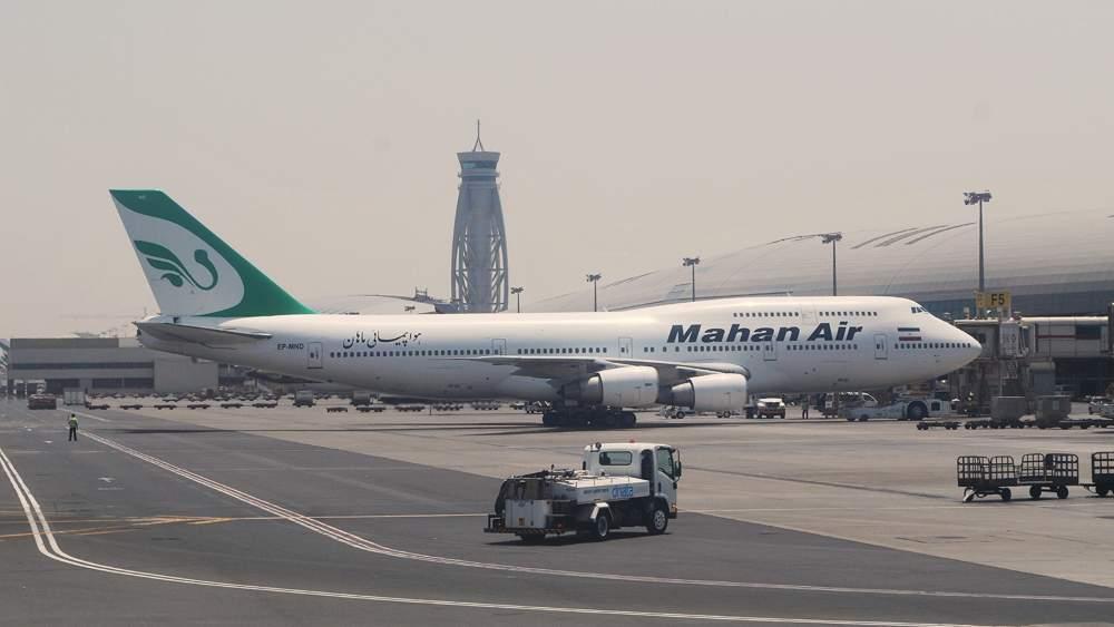 Boeing 747-300 Mahan Air Irã