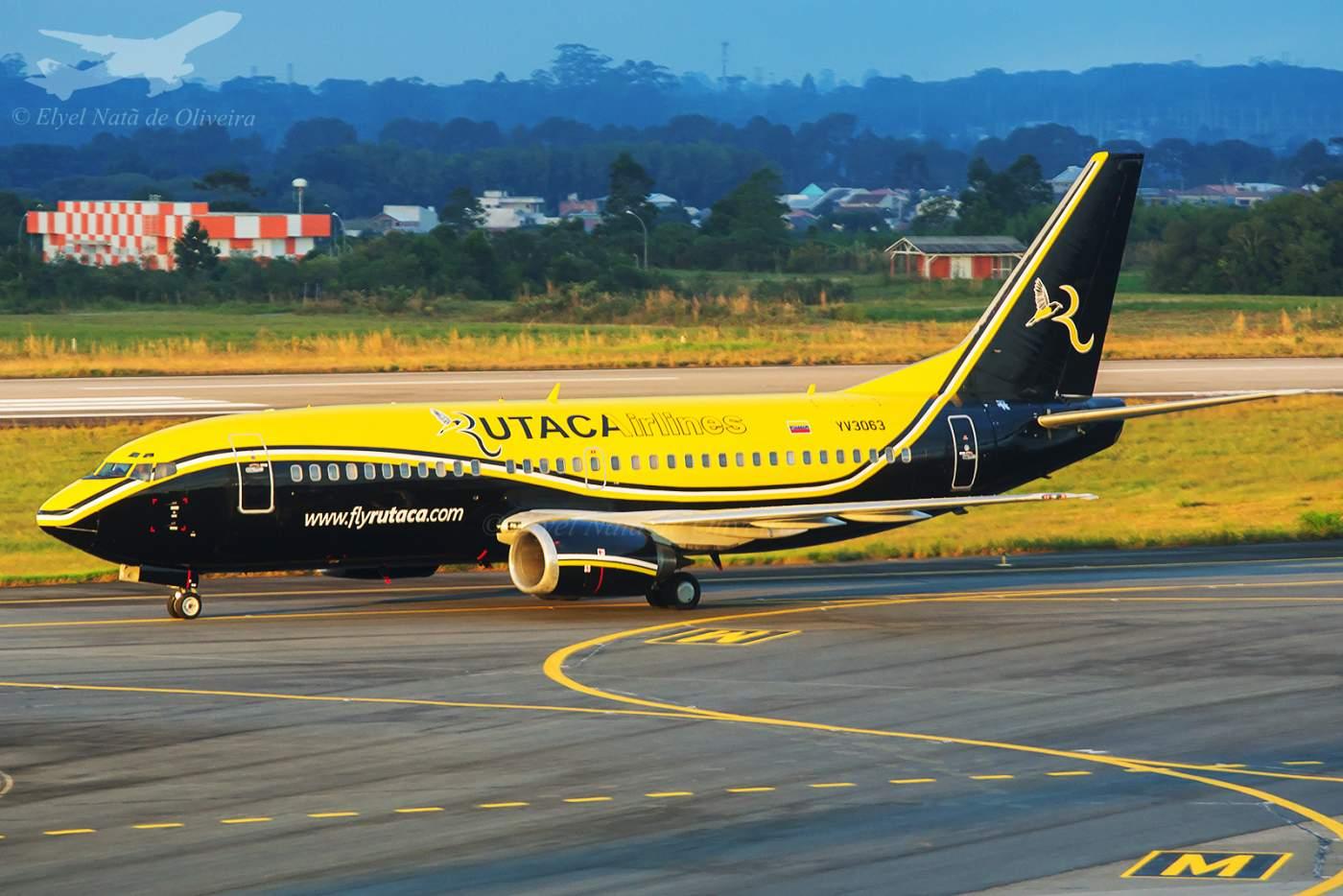 Boeing 737-300 Rutaca Venezuela Copa Sul-Americana