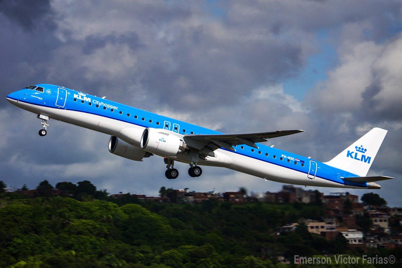 Embraer 195-E2 KLM