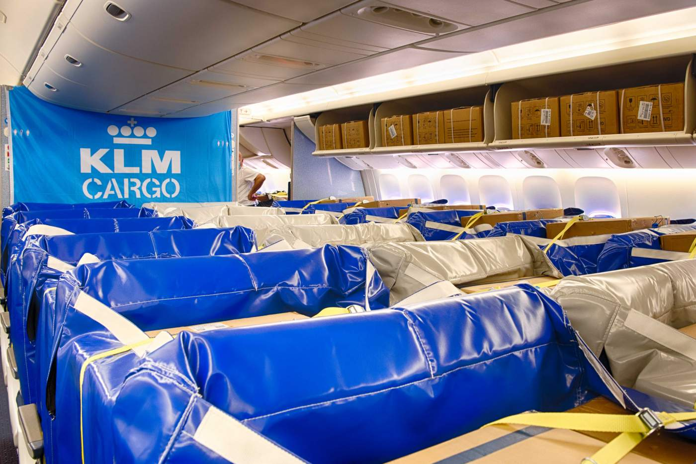 KLM Cargo Saco Cargas