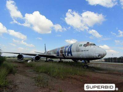 DC-8 Beta Cargo Leilão