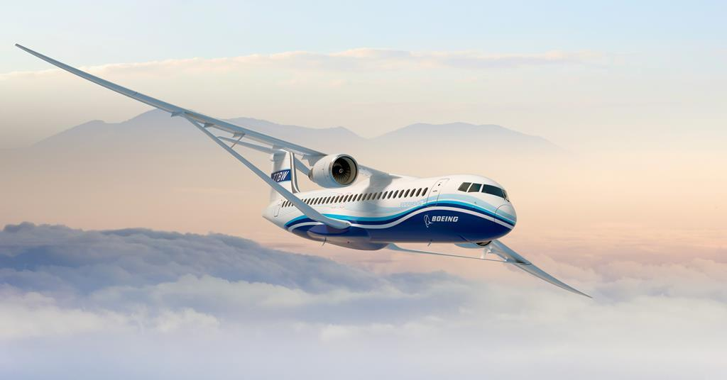 NASA Boeing conceito