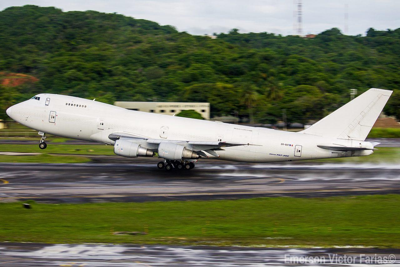 Boeing 747-200 Fly Pro Recife