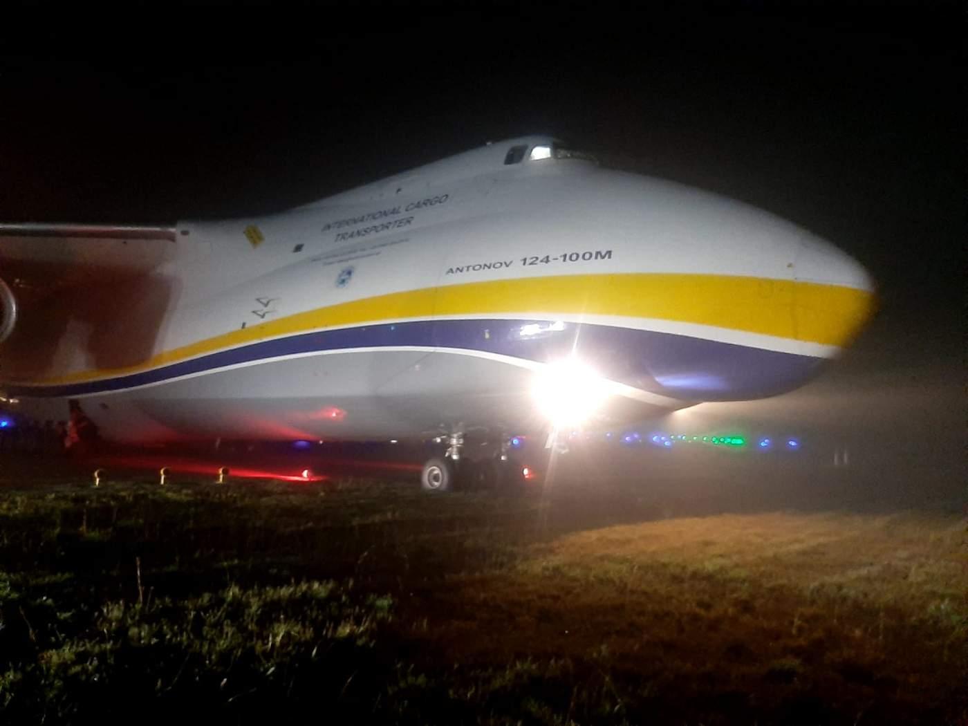 Antonov An-124 Guarulhos