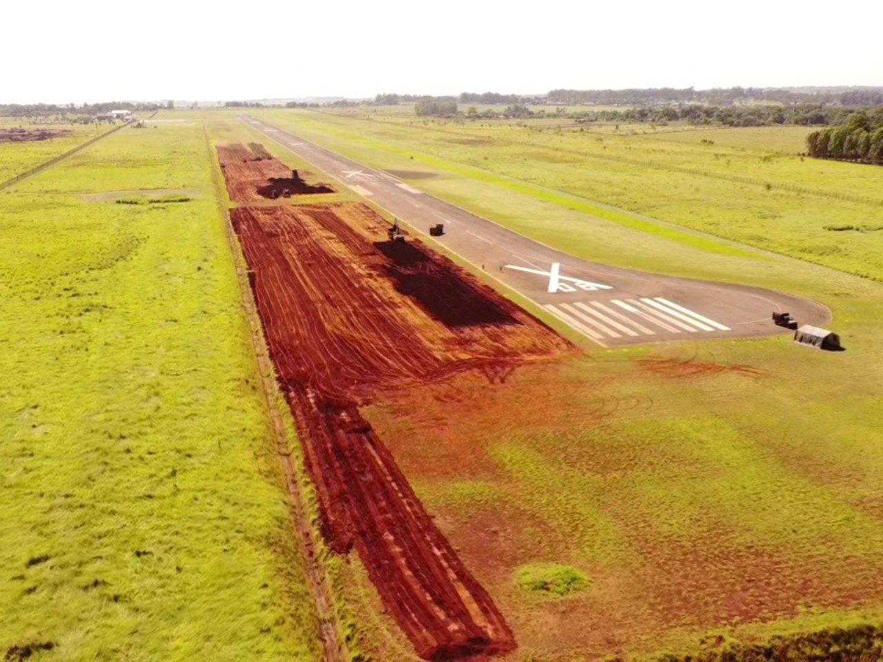 Engenharia Aeroporto de Dourados Exército