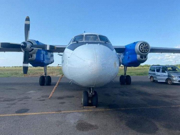 Antonov AN-26 Sudão do Sul