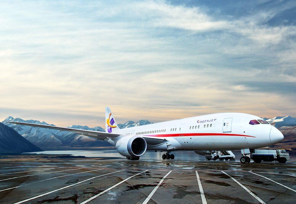 Boeing 787 Dream Jet Deerjet