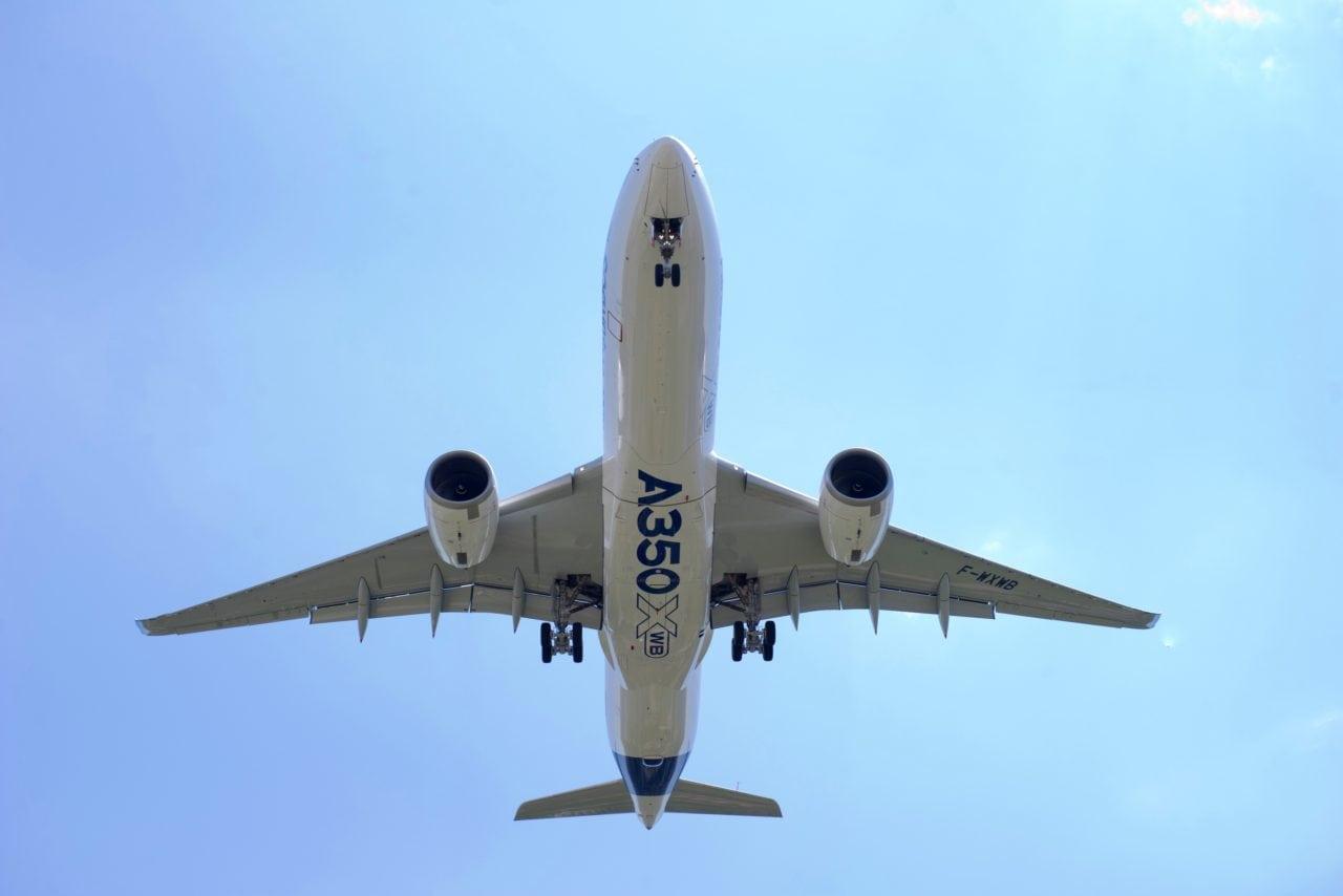 Airbus A350 Primeiro Voo