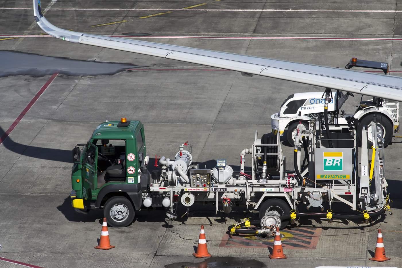Querosene de Aviação Abastecimento