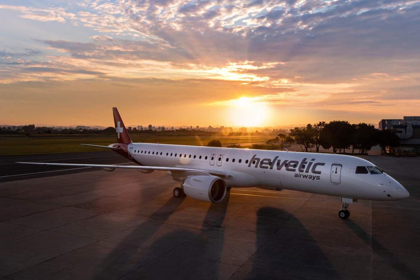 Embraer E195-E2 Helvetic Airways