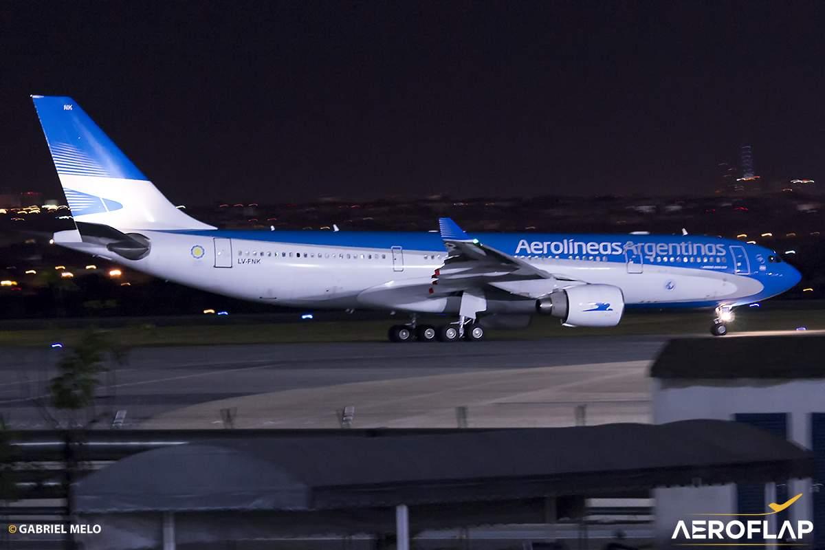 Airbus A330 Aerolíneas Argentinas Brasília