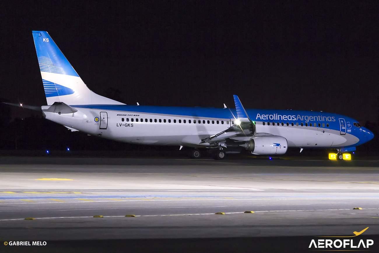 Boeing 737-800 Aerolíneas Argentinas Brasília