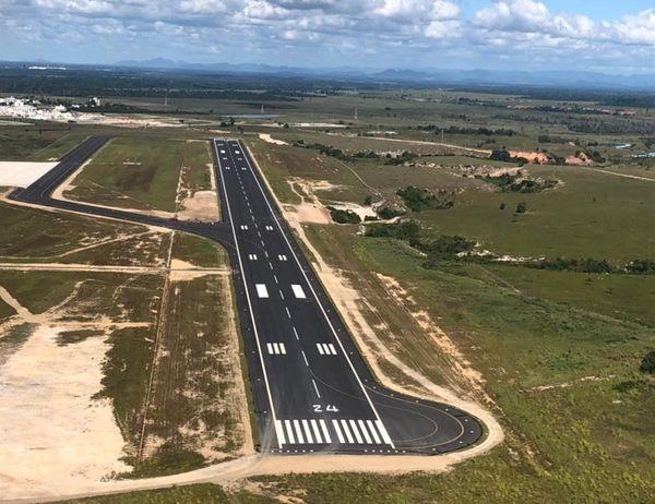 Nova Pista do Aeroporto de Linhares