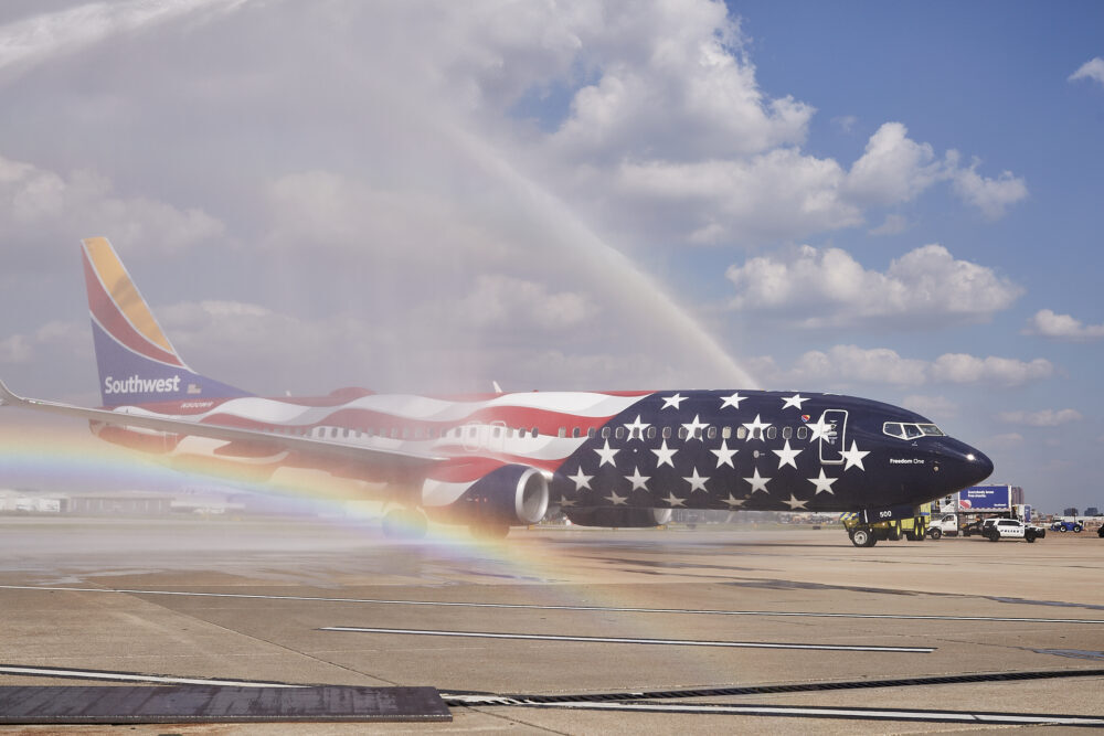 Southwest EUA Boeing 737