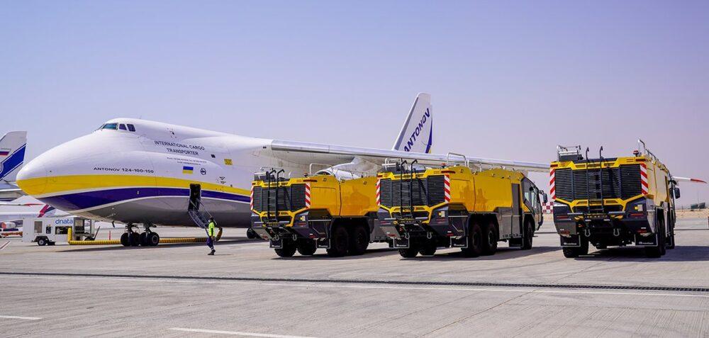 Antonov AN-124 Caminhões de Bombeiro
