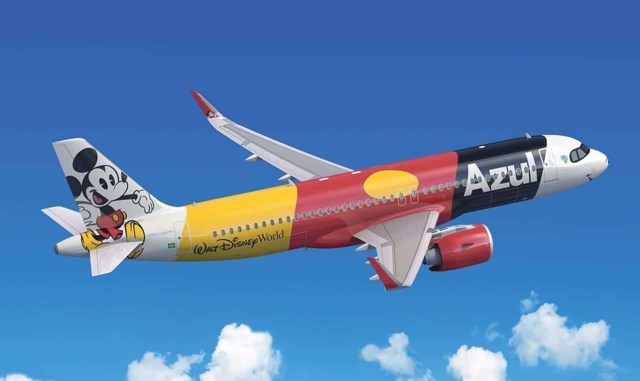Azul Disney Airbus A320