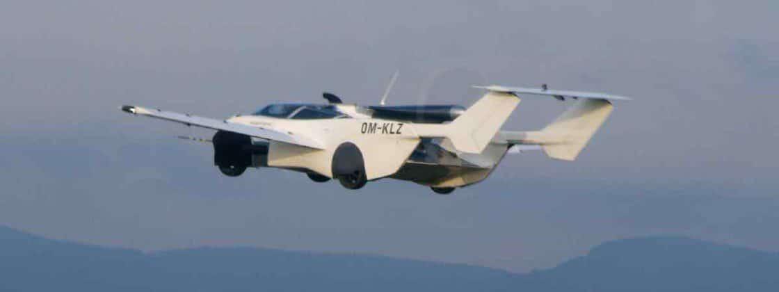 Carro voador AirCar Eslováquia