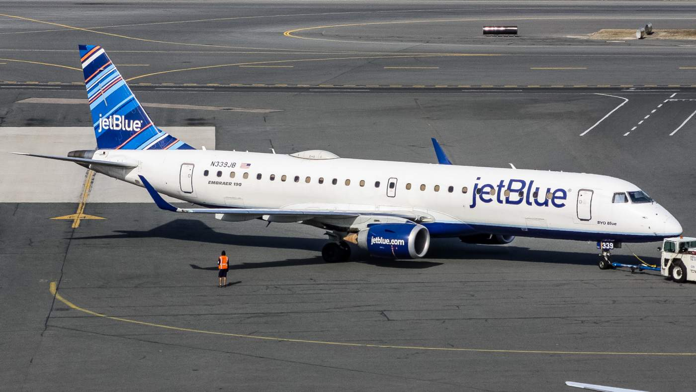 JetBlue EUA Embraer 190