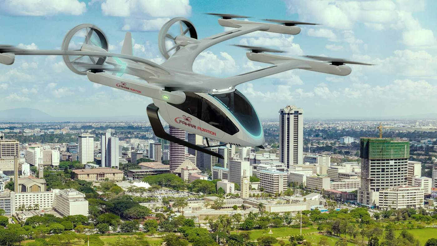 Embraer Eve Kenya