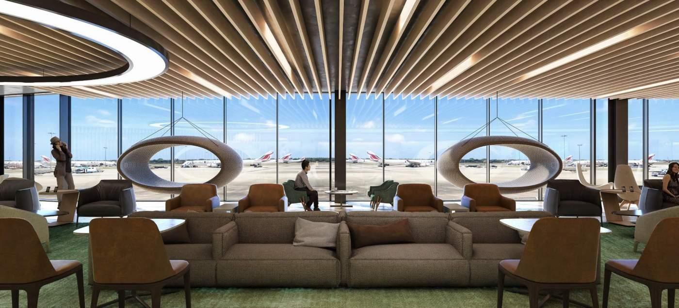 Lounge Aeroporto Internacional de São Paulo Guarulhos